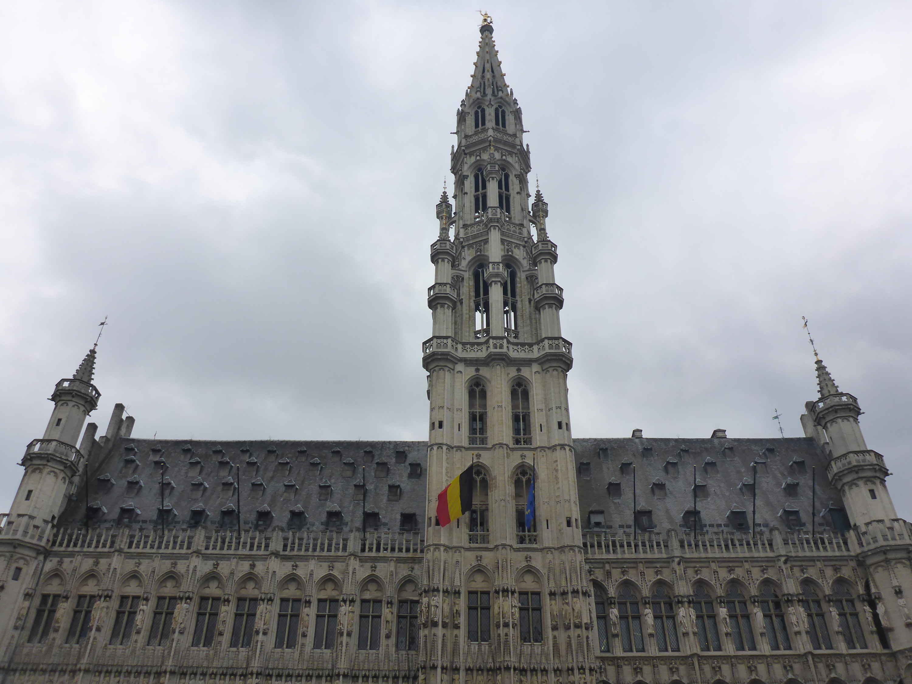 Town Hall, Brussels. Belgium