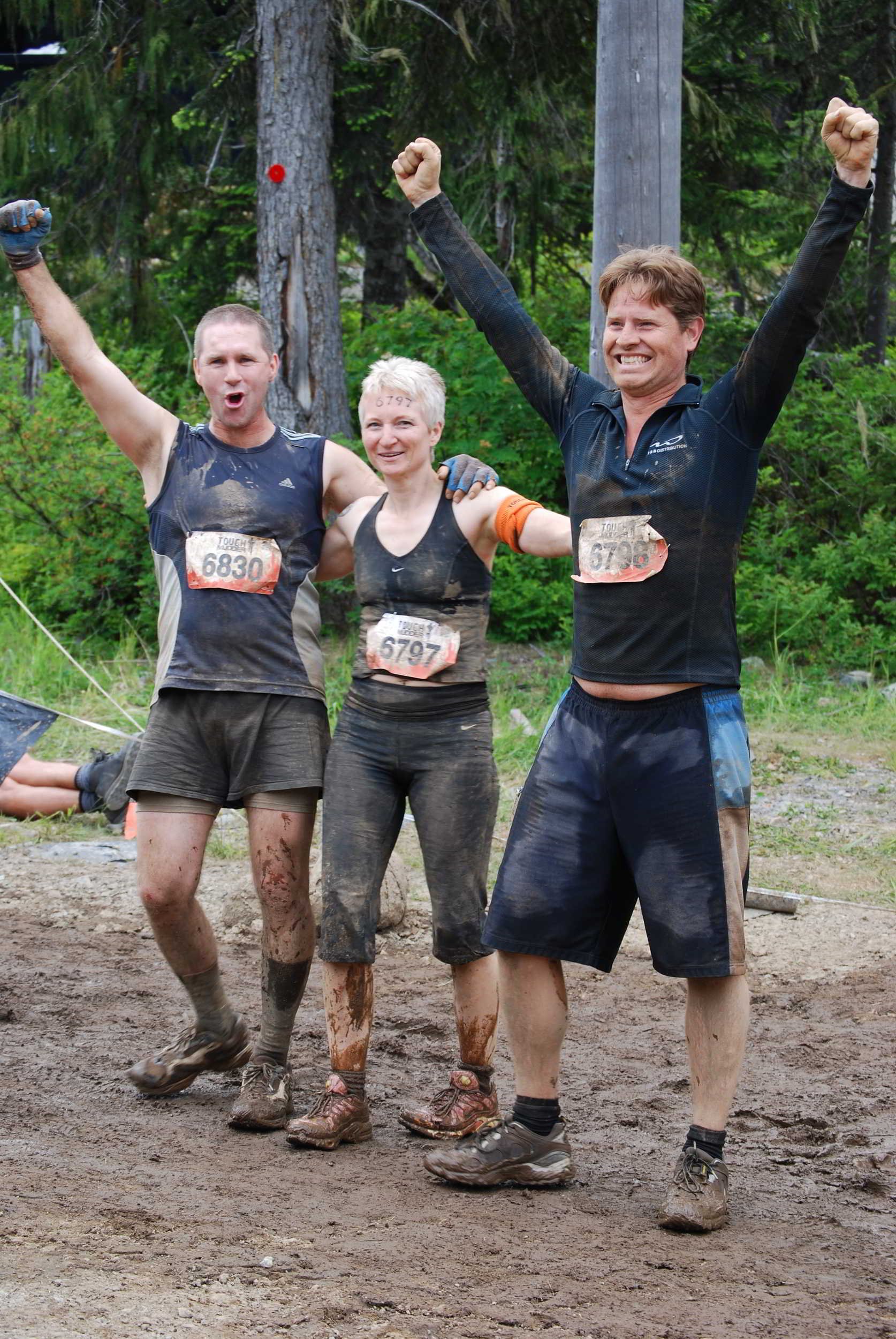 The End of Tough Mudder, Whistler, British Columbia, Canada