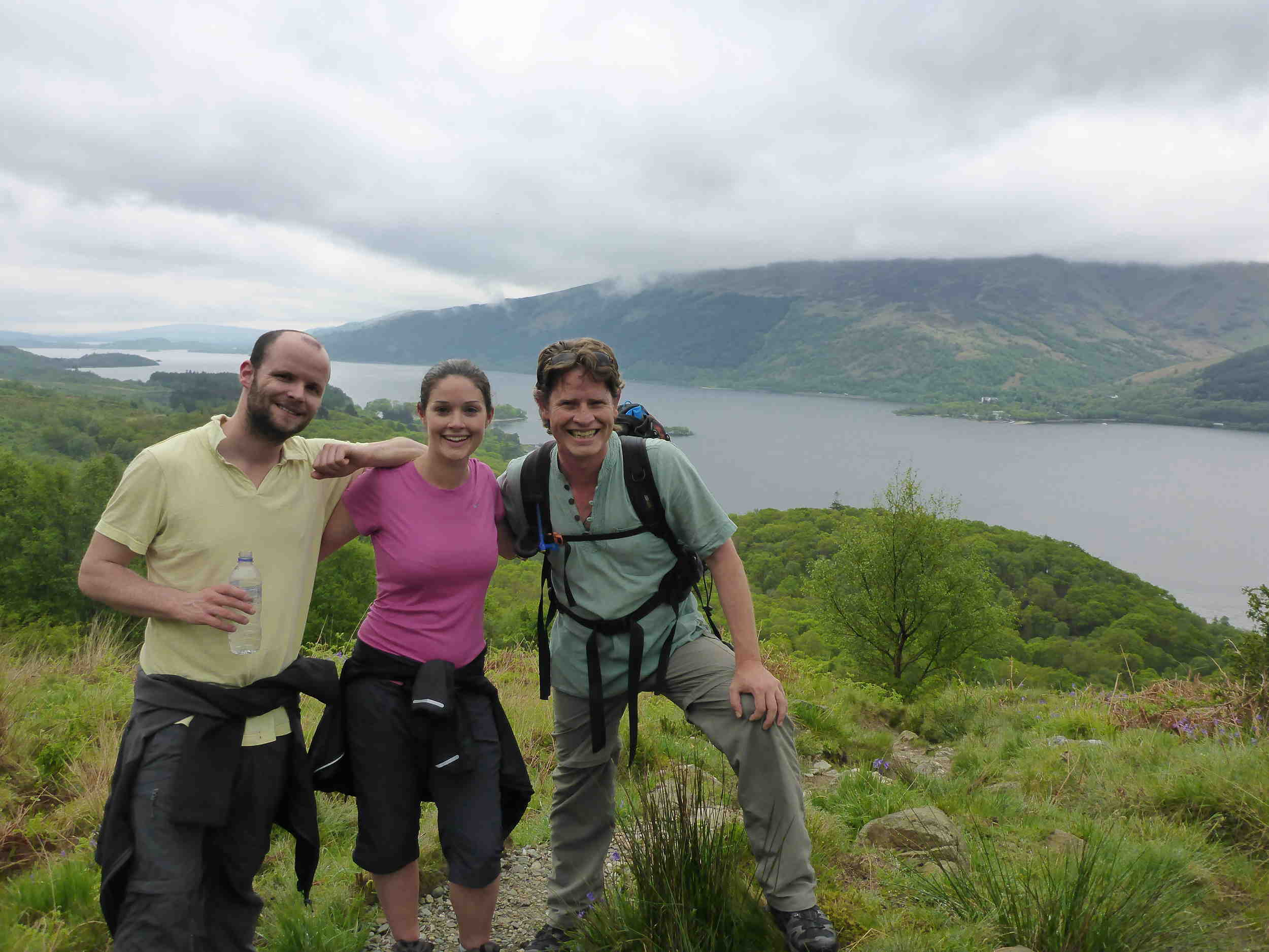Hiking Ben Lomond, Scotland