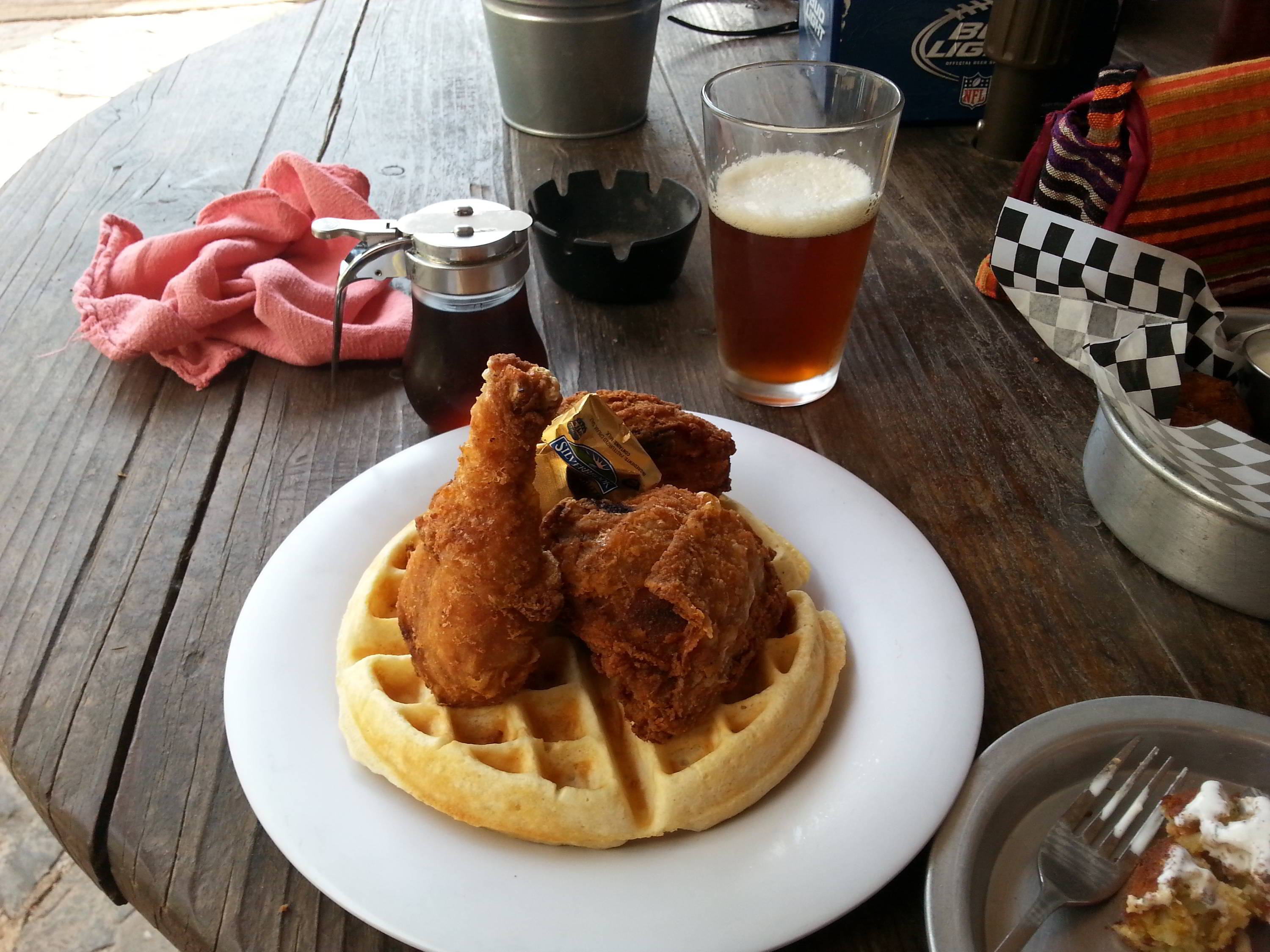 Chicken Waffles, Traditional American Cuisine