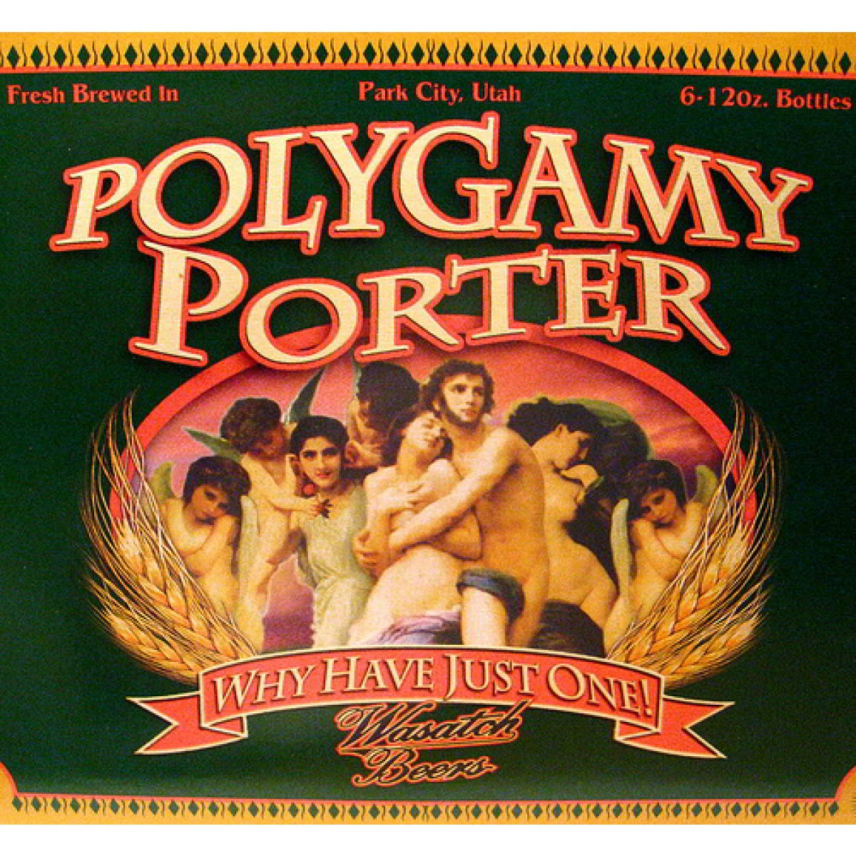 Polygamy Porter, Wasatch Brewery, Utah